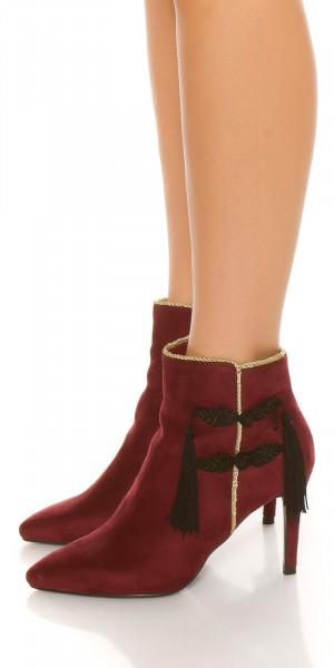 Dámské kotníkové boty 76603