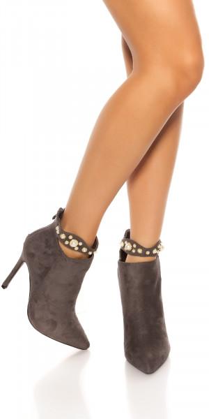 Dámské kotníkové boty 76606