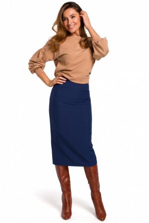 Dámská sukně S171 - Stylove tmavě modrá M-38
