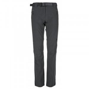 Dámské outdoorové kalhoty Wanaka-w tmavě šedé - Kilpi