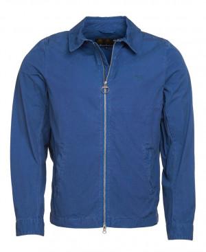 Lehká bavlněná bunda Barbour Essential Casual - modrá