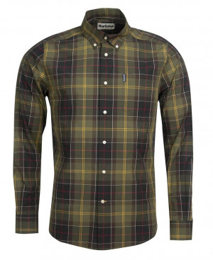 Tartanová košile Barbour Tartan 7 - Classic (button-down)