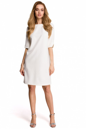 Dámské šaty S113 - Stylove ecri(krémová)