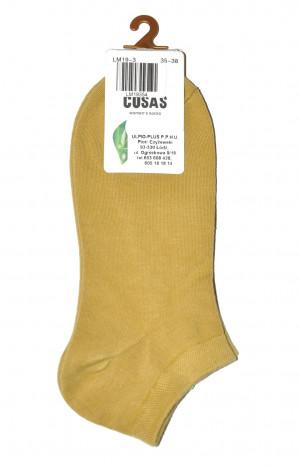 Dámské ponožky Cosas LM-19 015 Bamboo 35-42 béžový 39-42