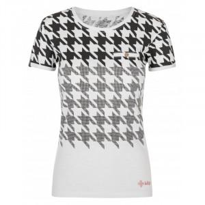Dámské tričko Emmy-w - Kilpi bílá/černá L-40