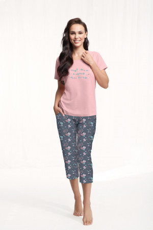 Dámské pyžamo 568 růžový