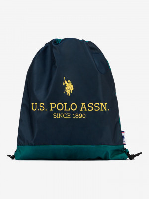 New Bump Gymsack U.S. Polo Assn Modrá