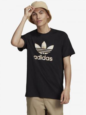 Camo Trefoil Triko adidas Originals Černá