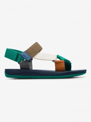 Match Sandále Camper Zelená