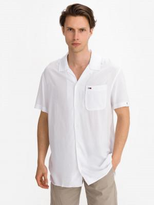 Solid Camp Košile Tommy Jeans Bílá