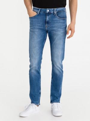 Slim Jeans Calvin Klein Modrá