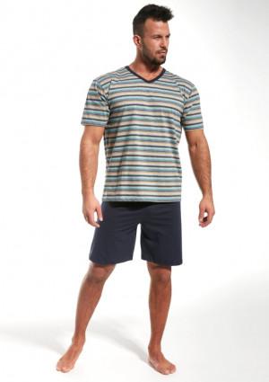Pánské pyžamo Cornette 330/18 2XL Modrá