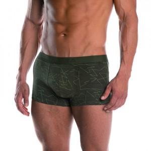 Pánské boxerky M-890SZG Khaki
