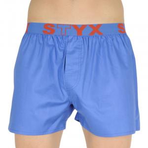 Pánské trenky Styx sportovní guma modré (B967)