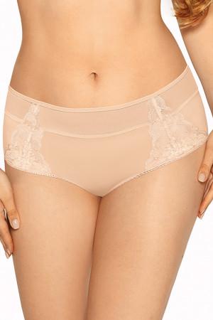 Dámské kalhotky brazilky Gaia 1009B Bianca béžový s