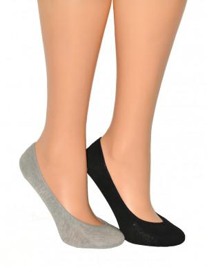 Dámské nízké ponožky Balerinki Ulpio Bambus 0709 Silikon béžový 38-40