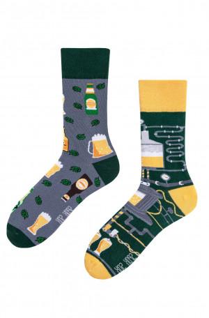 Nepárové ponožky Spox Sox Pivo 36-46 vícebarevný 40-43