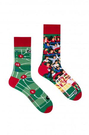 Nepárové ponožky Spox Sox Football 36-46 vícebarevný 36-39