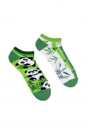 Nepárové nízké ponožky Spox Sox Pandy 36-46 vícebarevný 36-39