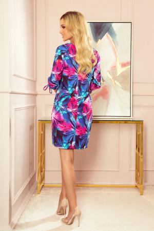 Dámské šaty  323-1 - NUMOCO vícebarevné