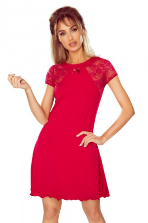 Noční košile Greta red - ELDAR