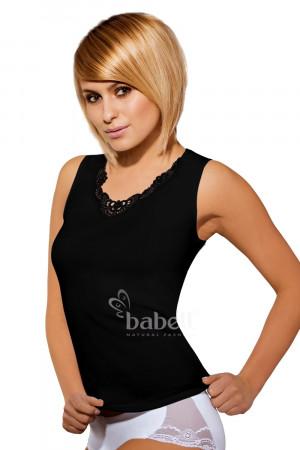Dámská košilka Malika plus black - BABELL