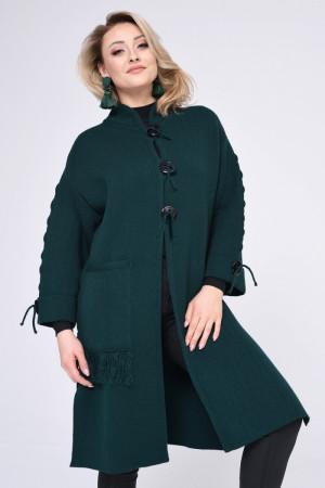 Dámský plášť 1446R - Vitesi tmavě zelená