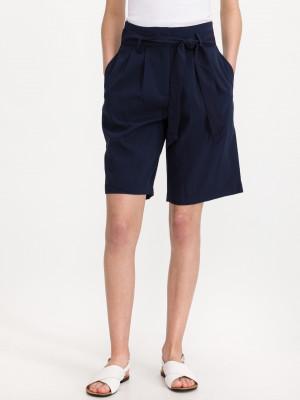 Haily Šortky Vero Moda Modrá