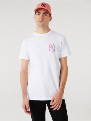 New York Yankees MLB Triko New Era Bílá