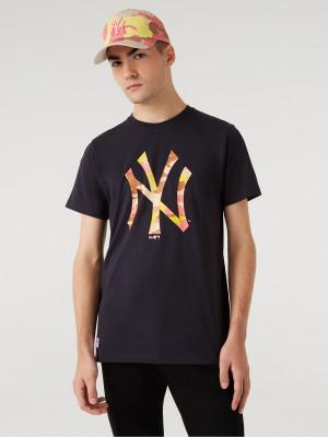 New York Yankees MLB Triko New Era Modrá