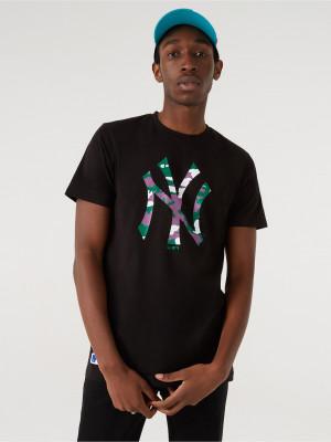 New York Yankees MLB Triko New Era Černá