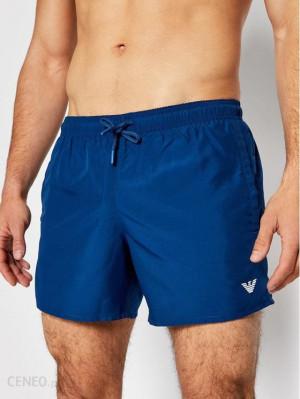 Pánské plavkové šortky 211752 1P438 03083 tmavě modrá - Giorgio Armani tm.modrá