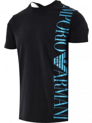 Pánské tričko 211831 1P469 00020 černé - Emporio Armani černá
