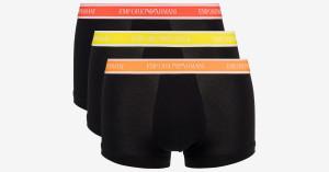 Pánské trenýrky 3pcs 111357 1P717 50620 černá - Emporio Armani černá
