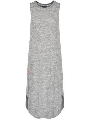 Dámské volnočasové šaty YI2622455 šedá - DKNY šedá