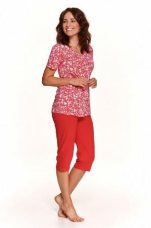 Taro Wera 908 červené Dámské pyžamo M červená