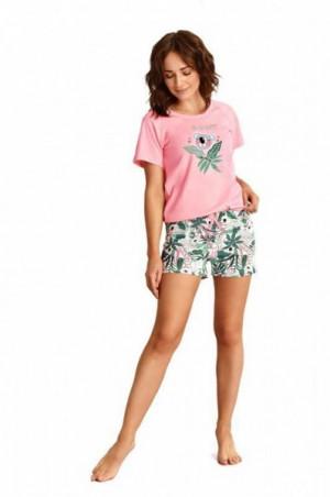 Taro Aurelia 2287 růžové Dámské pyžamo S růžová