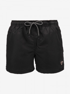 Bali Akm Solid Plavky Jack & Jones Černá