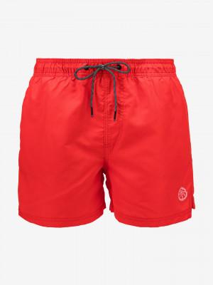 Bali Akm Solid Plavky Jack & Jones Červená