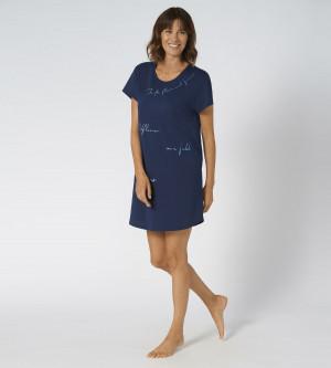 Dámská noční košile Nightdresses Triumph  hluboká voda (6722) 0046