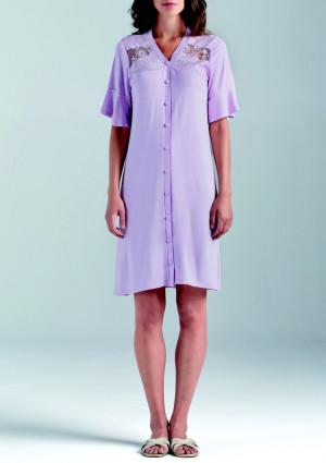 Dámská noční košile Lormar 630369 S Purple