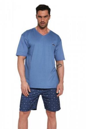 Cornette John 326/112 Jeans Pánské pyžamo M jeans
