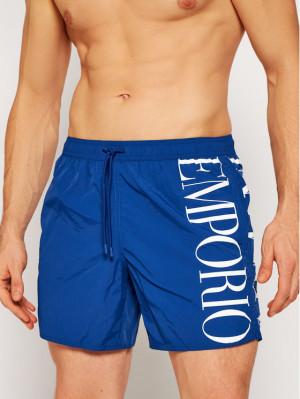Pánské plavkové šortky 211740 1P414 23033 modrá - Emporio Armani modrá
