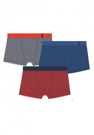 Pánské boxerky Redo 1BE-648 V Bambus M-3XL barevná směs