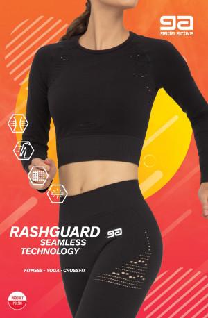 Dámský nátělník/top Gatta 43009S Rashguard Fitness Černá