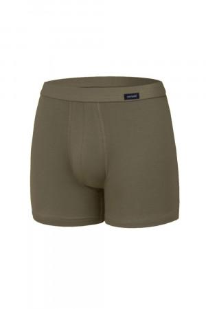 Pánské boxerky 220 khaki - CORNETTE khaki