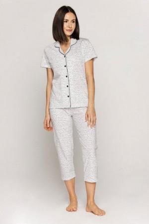 Cana 550 Dámské pyžamo 2XL XXL bílá