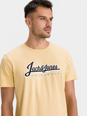 Reggie Triko Jack & Jones Žlutá