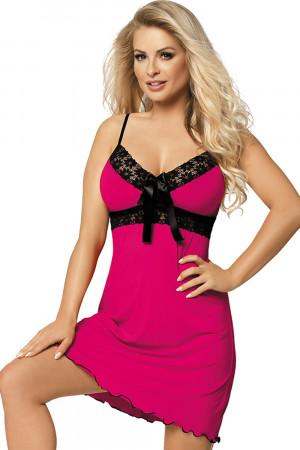 Dámská košilka Cassidy pink - DKAREN sytě růžová