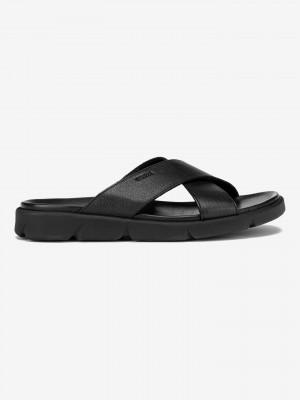 U Xand 2S Pantofle Geox Černá